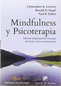Libro recomendado mindfulness y psicoterapia