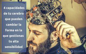 Las 4 capacidades de tu cerebro que te ayudarán a gestionar tu Alta Sensibilidad de forma positiva